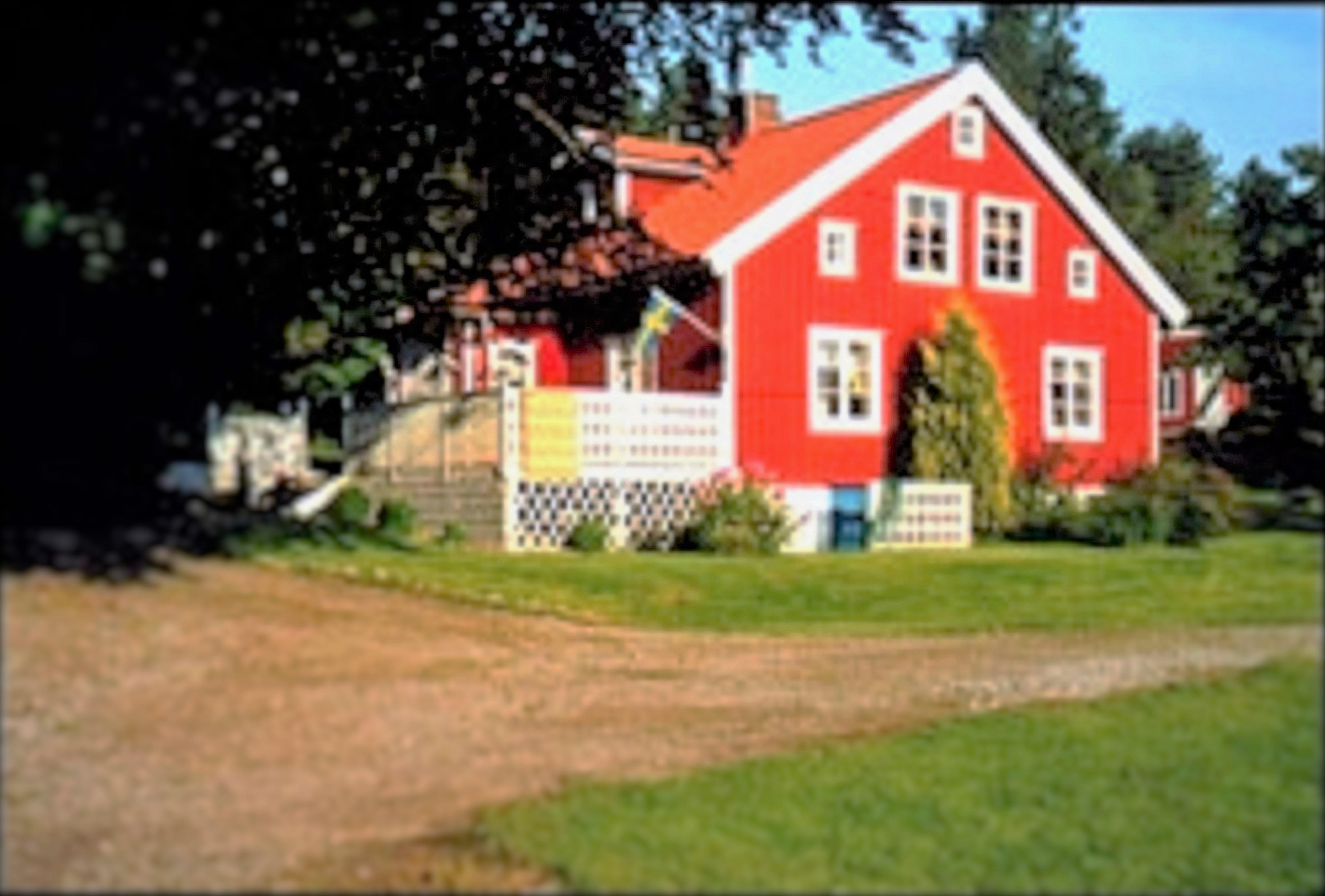 hus framifrån